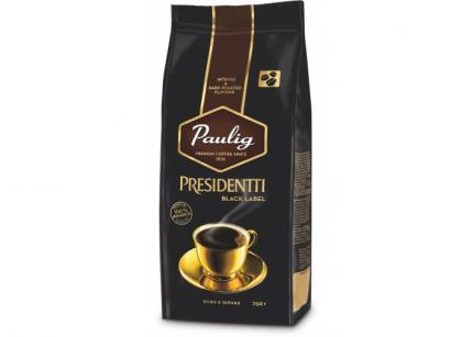 Кофе в зернах Paulig presidentti black label 250 г