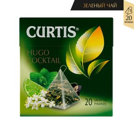 Чай Curtis Hugo Cocktail зеленый с добавками 20 пирамидок