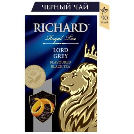 Чай Richard Lord Grey листовой черный с добавками 90 г
