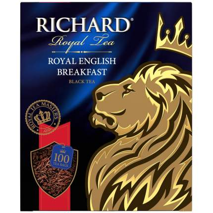 Чай Richard Royal English Breakfast черный 100 пакетиков