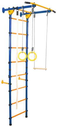 Детский спортивный комплекс Юный Атлет «Пристенный-Лайт», цвет синий Юный Атлет