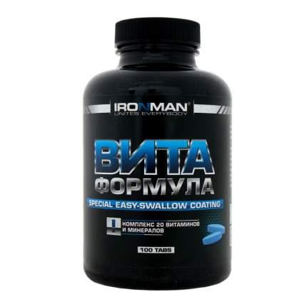 Витаминно-минеральный комплекс Ironman VITA Formula 100 таблеток