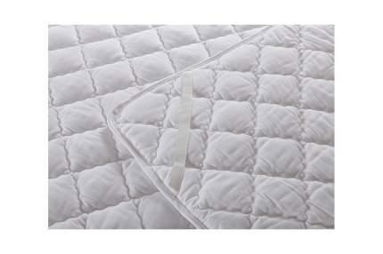 Наматрасник ЛЁН стёганый, микрофибра, 120x200 Sterling Home Textile