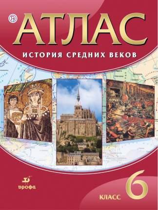 История Средних веков, 6 класс, Атлас