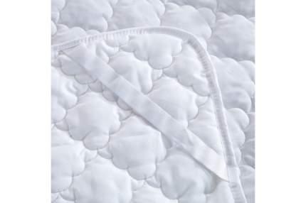 Наматрасник ЛЁН стёганый, микрофибра, 140x200 Sterling Home Textile