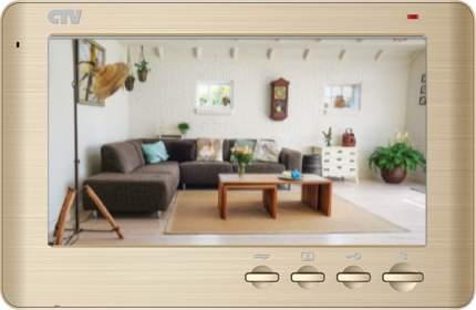 Видеодомофон CTV-M1704 SE - золотой