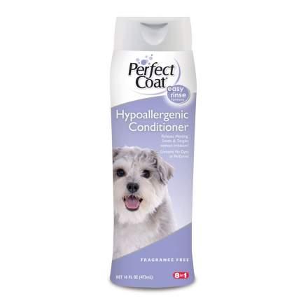 Кондиционер для собак 8in1 Hypoallergenic гипоаллергенный, масло чайного дерева, 473 мл