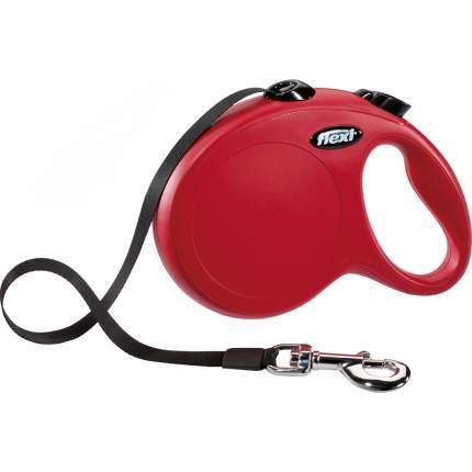 Поводок-рулетка Flexi New Classic L, красный