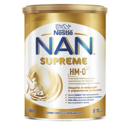 Молочная смесь с олигосахаридами для защиты от инфекций NAN Supreme от 0 до 12 мес. 800 г