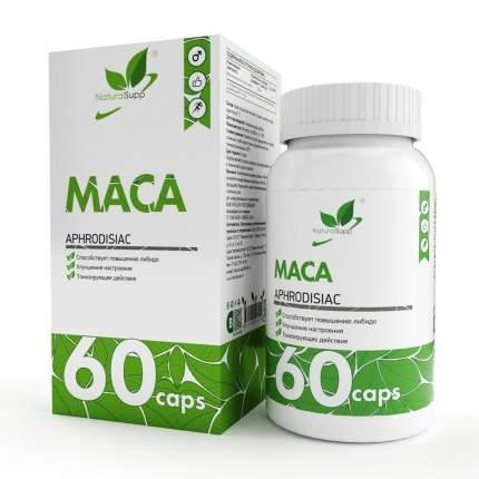 Препарат для мужчин мака NATURALSUPP Maca (60 капсул)