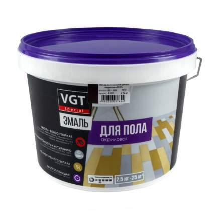 """Эмаль вд-ак-1179 """"профи"""" для пола венге 2,5 кг """"Vgt"""""""