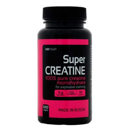 Креатин XXI Power Super Creatine, 100 капсул