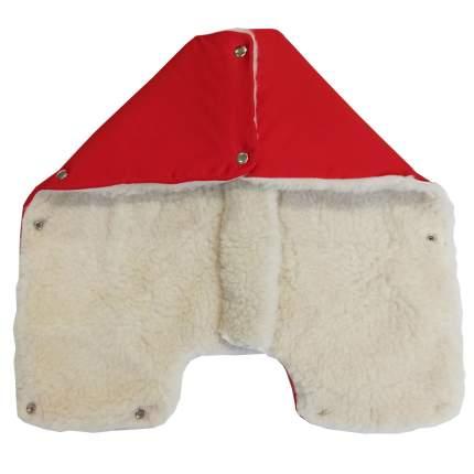 Муфта для коляски Папитто Снежинка Красный 1172