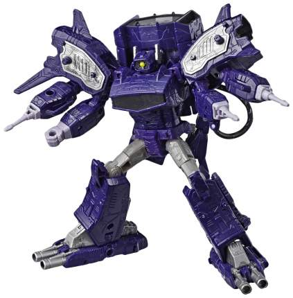 Hasbro Transformers E3419/E3576 Трансформеры КЛАСС ЛИДЕРЫ Шоквейв