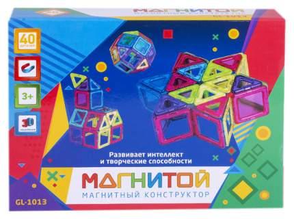 Магнитой GL-1013 Конструктор магнитный Звезда (40 деталей, 16 - с окном)