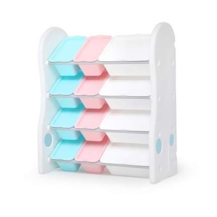 Стеллаж для игрушек iFam DesignToy-1, пастель