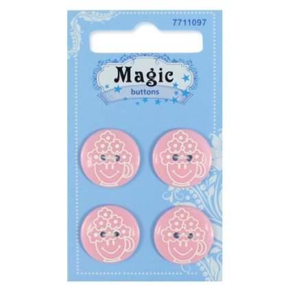 """Пуговицы декоративные """"Magic Buttons"""" 7711097"""