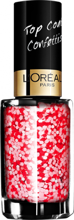 Верхнее покрытие для ногтей L'OREAL PARIS Top Coat, тон 929 Граффити любви, 5 мл