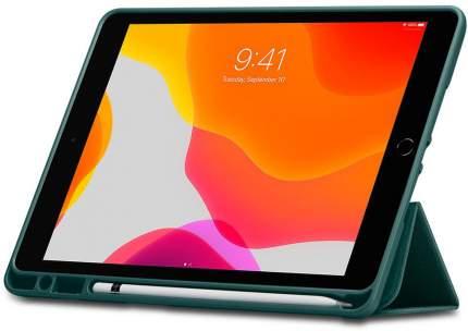 """Чехол Spigen Urban Fit (ACS01062) для iPad 10.2"""" (Midnight Green)"""