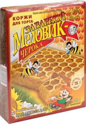 Коржи для торта заварной Черока медовик 400 г