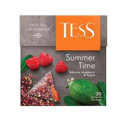 Чайный напиток в пирамидках Tess Summer Time 20 пакетиков