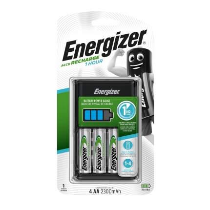 Зарядное устройство + аккумуляторы Energizer 1HR Charger AA 4шт