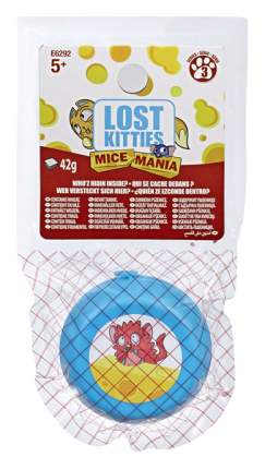Игровой Набор Hasbro Lost Kitties E6292 4 Предмета