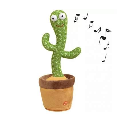 Интерактивная игрушка Кактус в горшке танцующий говорящий и поющий