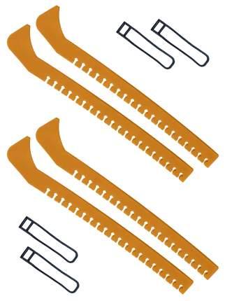 Набор зимний: Чехлы для коньков желтые - 2 шт.