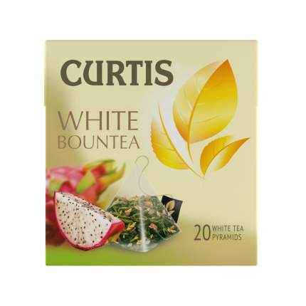 Чай белый Curtis white bountea 20 пакетиков