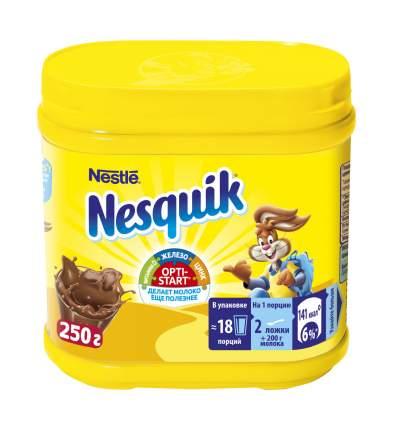 Какао-напиток Nesquik opti-start быстрорастворимый в банке 250 г