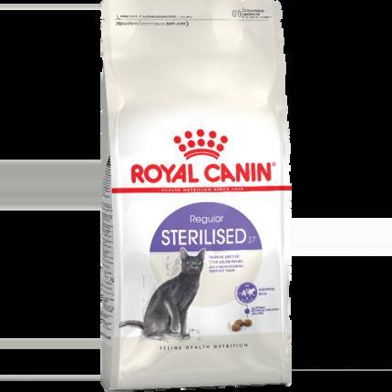 Сухой корм для кошек ROYAL CANIN Sterilised 37, для стерилизованных, 4кг
