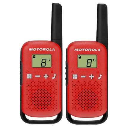 Комплект из двух радиостанций Motorola T42 RED (TALKABOUT)