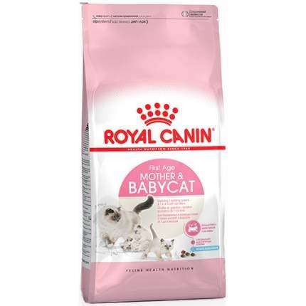 Сухой корм для котят и кормящих кошек ROYAL CANIN Mother&Babycat, домашняя птица, 2кг