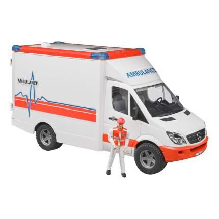 Скорая помощь с фигуркой водителя MB Sprinter Bruder (Германия) 02-536