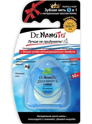 Зубная нить Dr.NanoTo 5 в 1 с мятой