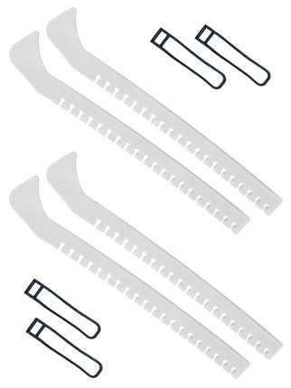 Набор зимний: Чехлы для коньков белые - 2 шт.