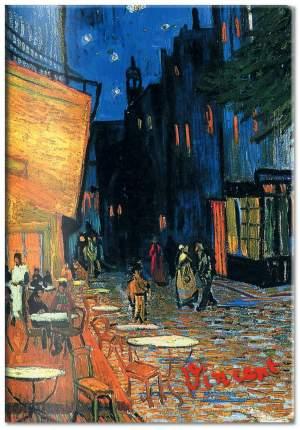 Обложка для паспорта, Ван Гог, Ночное кафе (Арте)