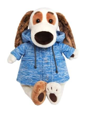 """Мягкая игрушка """"Бартоломей"""" в голубой куртке B&Co, 27 см Басик и Ко"""