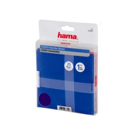 Конверты для CD/DVD дисков Hama, 25 шт