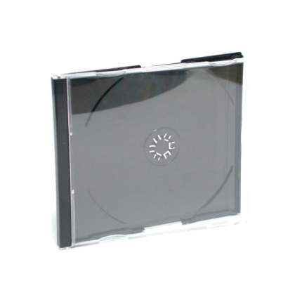 Коробка для CD/DVD Buro Slim, 1 диск, 10 шт