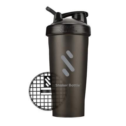Шейкер ShakerBottle С03, 600 мл, цвет: черный