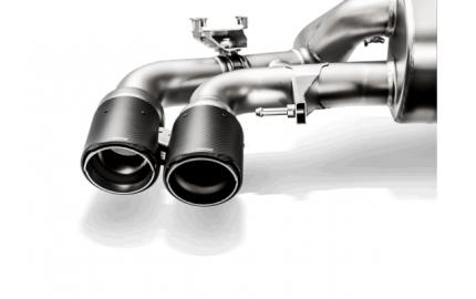 Насадки выхлопной системы Akrapovic TP-CT/47/RS  (Carbon Matte) для BMW F90 M5