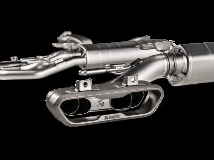 Комплект для установки Akrapovic AKRAPOVIC P-HF1225  S-ME/TI/5 на MERCEDES BENZ W463A G500