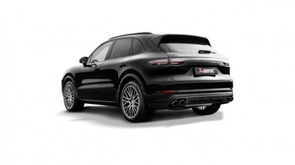 Выхлопная система Akrapovic S-PO/TI/17H Evolution Line (Titanium) для Porsche 536 Cayenne