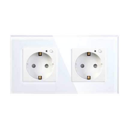 Умная розетка HIPER IoT Outlet W02 Duo (White)