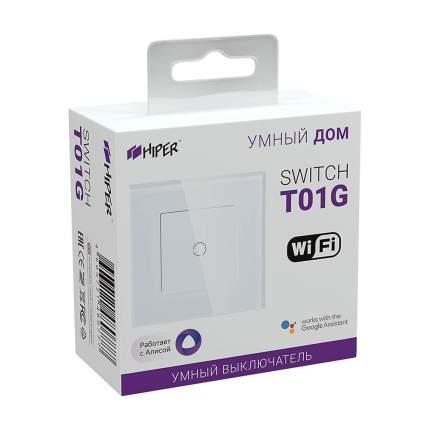 Умный выключатель HIPER IoT Switch T101G (White)