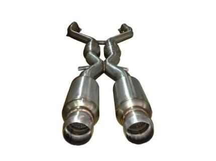 Средняя часть выхлопа (X-pipe) Atomic ARD 115172-03 с резонаторами для BMW E9x M3