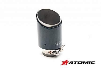 Насадка выхлопной системы Autotecknic AUTOTECKNIC UN-0008-5189 51мм /89мм (карбон)
