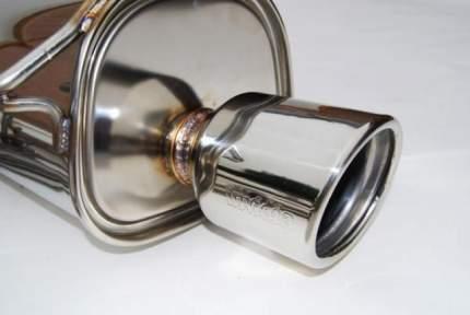 Задняя банка Invidia CB-HS10SL1GT3  Q300 S.S Rolled Tip для SUBARU LEGACY 2010